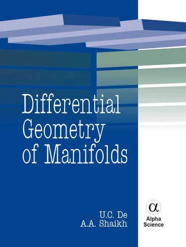 Differential Geometry of Manifolds: De, U C/