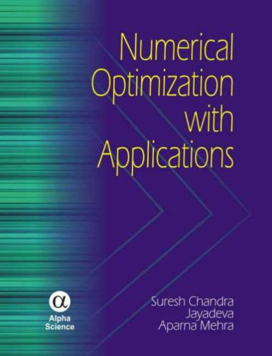 9781842654279: Numerical Optimization With Applications