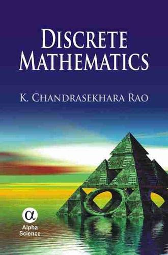 Discrete Mathematics: K. Chandrasekhara Rao