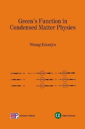 Green's Function in Condensed Matter Physics: Wang Huaiyu