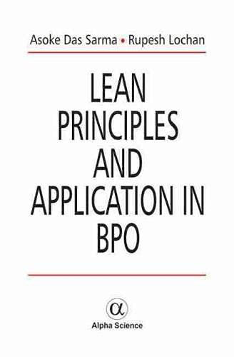 9781842658451: Lean Principles and Applications in BPO