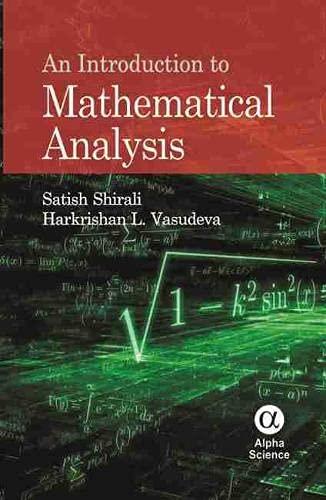 9781842658475: An Introduction to Mathematical Analysis