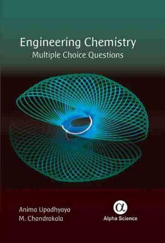 Engineering Chemistry: Multiple Choice Questions (Hardback): Anima Upadhyay, M. Chandrakala