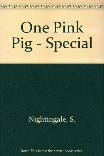 9781842702505: One Pink Pig - Special