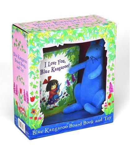 9781842704837: I Love You, Blue Kangaroo Board Book and Toy (book+plush set)