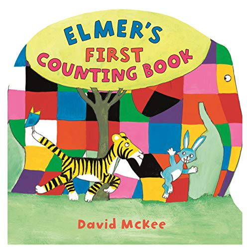 9781842706305: Elmer's  First Counting Book