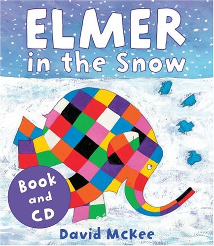 9781842707487: Elmer in the Snow (Book & CD)