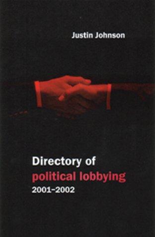 9781842750001: Directory of Political Lobbying 2002-03