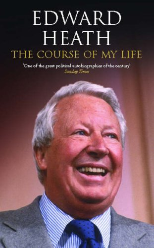 9781842752142: The Course of My Life: The Autobiography of Edward Heath