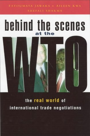 9781842773109: Behind the Scenes at the WTO: The Real World of International Trade Negotiations