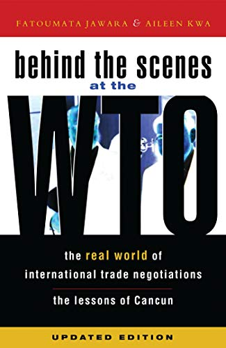 9781842775332: Behind the Scenes at the WTO: The Real World of International Trade Negotiations, Updated Edition