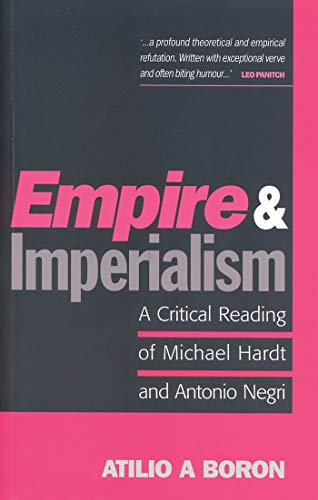 9781842775776: Empire and Imperialism: A Critical Reading of Michael Hardt and Antonio Negri