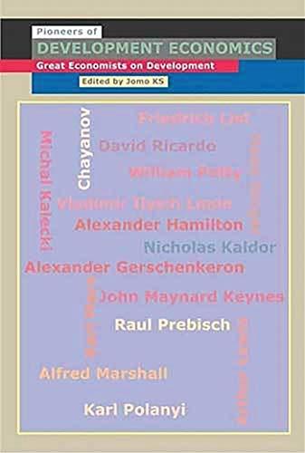 9781842776445: Pioneers of Development Economics: Great Economists on Development