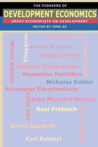 9781842776452: The Pioneers of Development Economics: Great Economists on Development
