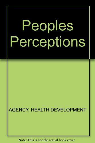 Assessing People's Perceptions of Their Neighbourhood and: Coulthard, Melissa; Walker,