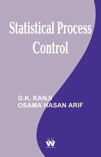 9781842901618: Statistical Process Control