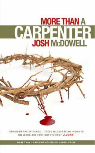 more than a carpenter book report The inspirational classic, more than a carpenter, is now updated for a new generation of seekers with a fresh look, revised material, and a new chapter that addresses questions commonly raised today.