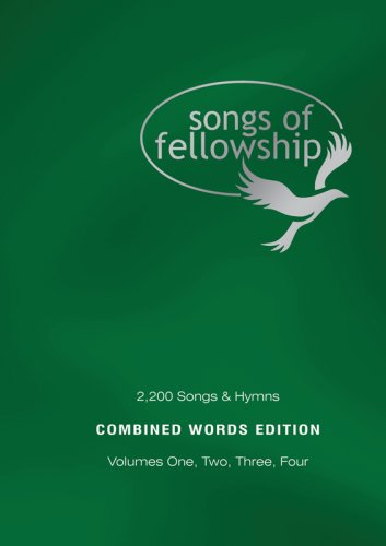 9781842913819: Songs of Fellowship: 2200 Songs and Hymns: v. 1 - 4