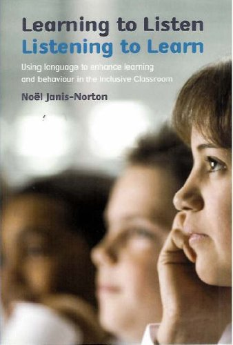 9781842992289: Learning to Listen, Listening to Learn