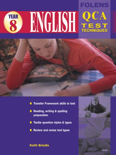 9781843030126: English Test Techniques: Year 8 QCA Test Techniques Student Book