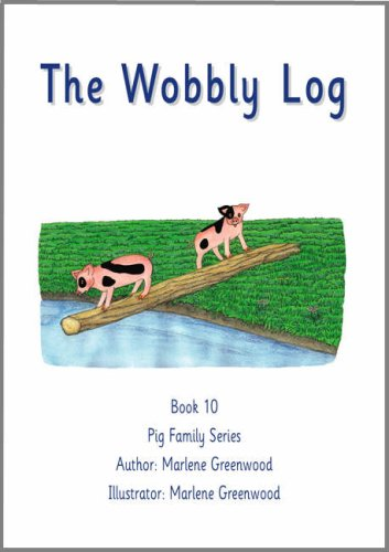 9781843050650: The Wobbly Log (Pig Family Series)