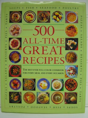 500 All-Time Great Recipes: Author