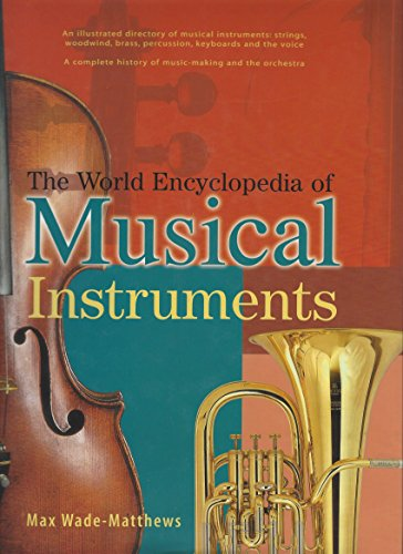 9781843096955: THE WORLD ENCYCLOPEDIA OF MUSICAL INSTRUMENTS