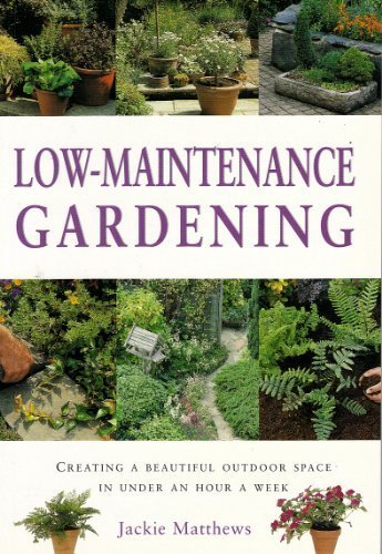 9781843098362: Low-maintenance Gardening