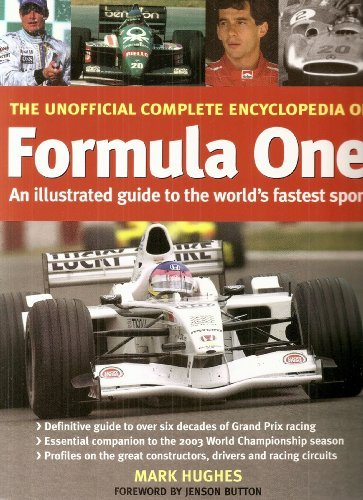 9781843098645: THE UNOFFICIAL FORMULA ONE ENCYCLOPEDIA