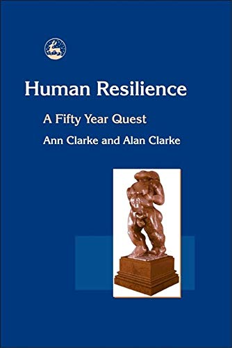 9781843101390: Human Resilience: A Fifty Year Quest