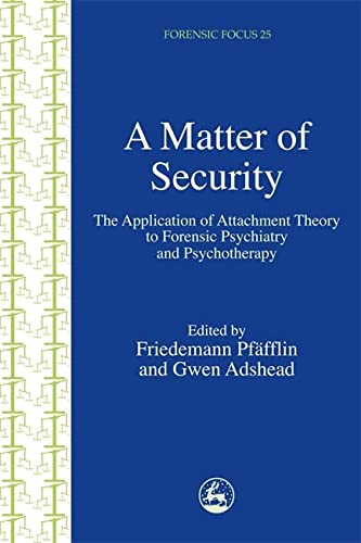 A Matter of Security: The Application of: Friedemann Pfäfflin; Gwen