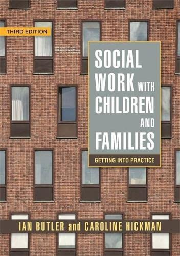 9781843105985: Social Work with Children and Families: Getting into Practice Third Edition