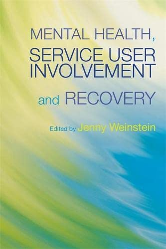 9781843106883: Mental Health, Service User Involvement and Recovery