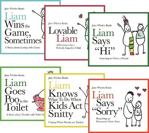9781843109075: The Lovable Liam Series