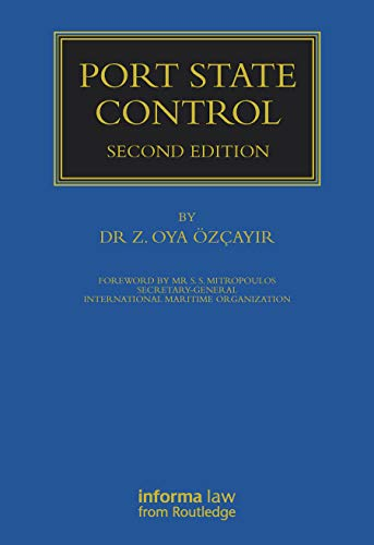 9781843113287: Port State Control (Maritime and Transport Law Library)