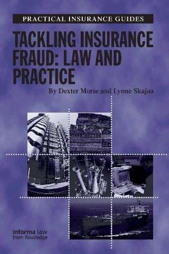 9781843113348: Tackling Insurance Fraud: Law and Practice (Practical Insurance Guides)