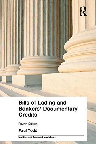 9781843116318: Bills of Lading and Bankers' Documentary Credits (Maritime and Transport Law Library)