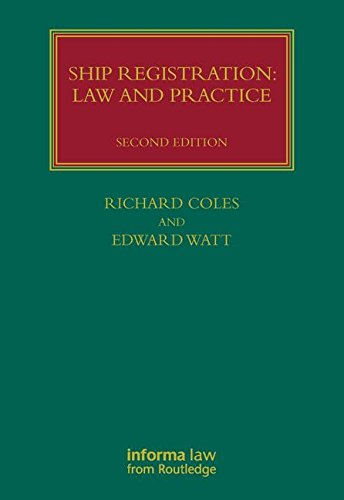 9781843116349: Ship Registration: Law and Practice (Lloyd's Shipping Law Library)