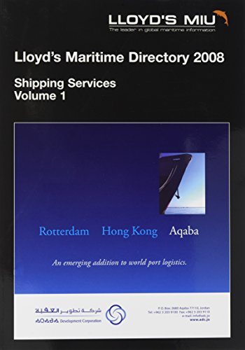 9781843117544: Lloyd's Maritime Directory of Shipping Services (Pt. 2)