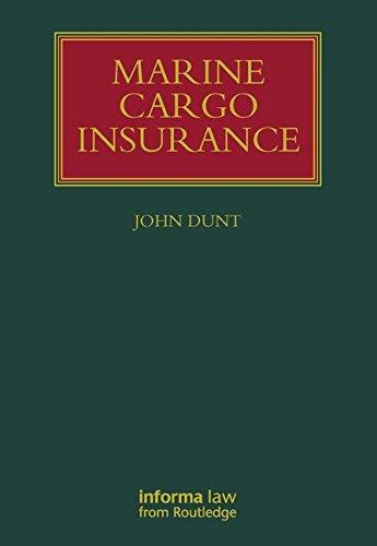 9781843117636: Marine Cargo Insurance (Lloyd's Shipping Law Library)