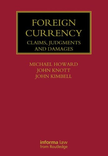 9781843118138: Foreign Currency: Claims, Judgments and Damages (Lloyd's Commercial Law Library)