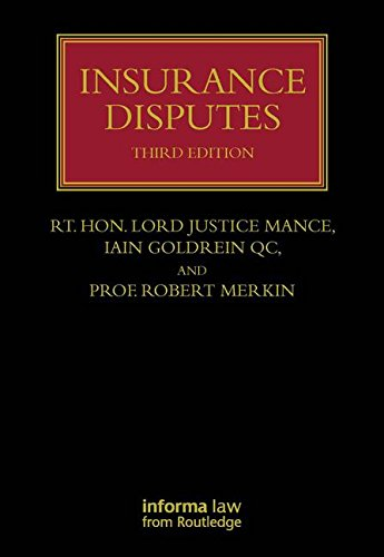 9781843119579: Insurance Disputes (Lloyd's Insurance Law Library)