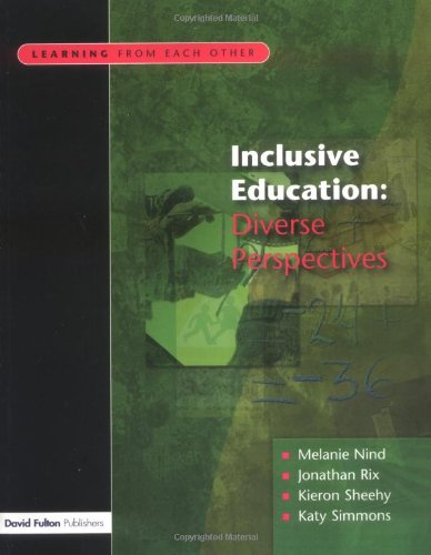9781843120650: Inclusive Education: Diverse Perspectives (Learning from Each Other)