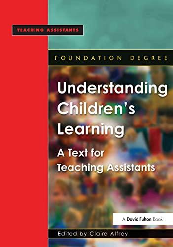 Understanding Children's Learning: Alfrey, Claire