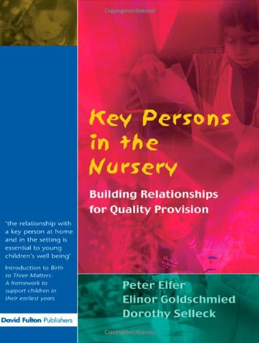 Essential books for early years professionals bundle: Elfer, Peter, Goldschmied,