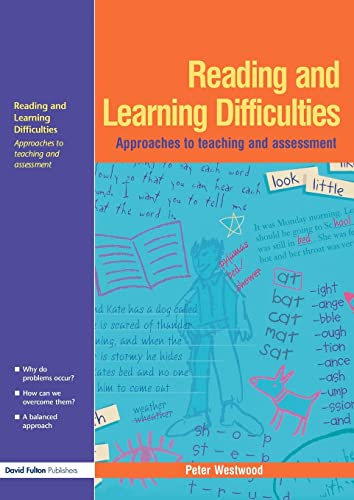 9781843121961: Reading and Learning Difficulties