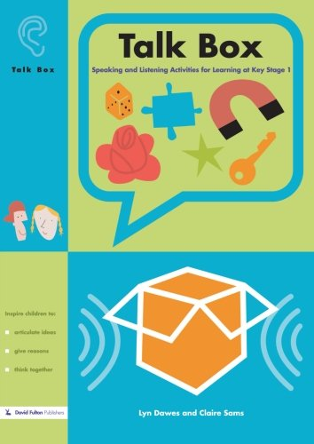 9781843122029: Talk Box: Speaking and Listening Activities for Learning at Key Stage 1
