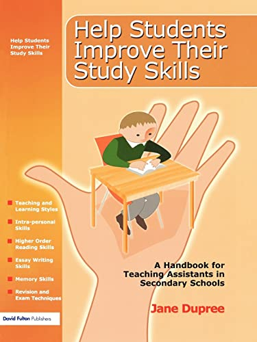 9781843122630: Help Students Improve Their Study Skills: A Handbook for Teaching Assistants in Secondary Schools