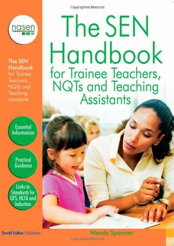 9781843124047: The SEN Handbook for Trainee Teachers, NQTs and Teaching Assistants (nasen spotlight)