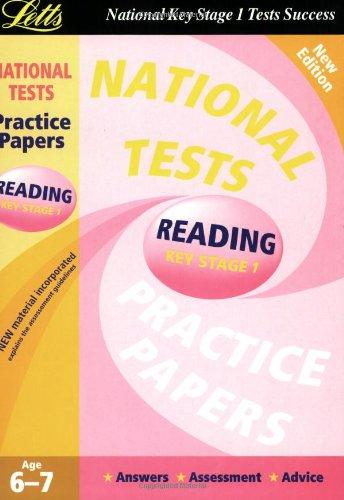 National Test Practice Papers 2003: Reading Key: SARAH HARRIS
